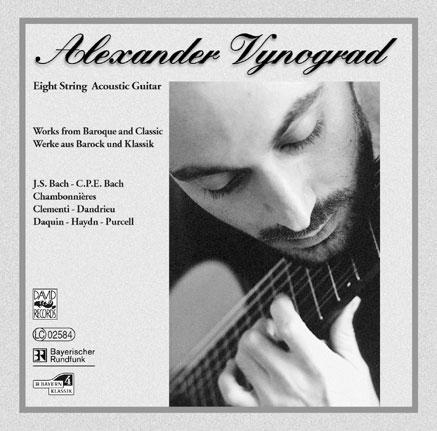 Alexander Vynograd - Eight String Acoustic Guitar